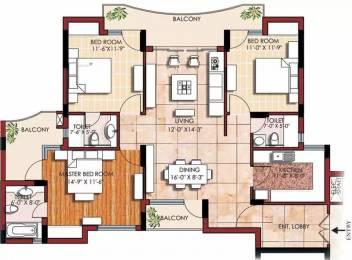 1775 sqft, 3 bhk Apartment in SVP Gulmohur Greens Rajendra Nagar, Ghaziabad at Rs. 85.9000 Lacs