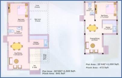 1500 sqft, 1 bhk Villa in Builder Odisha State Housing Board Badapatrapalli Sundergarh Rourkela Road, Rourkela at Rs. 45.0000 Lacs