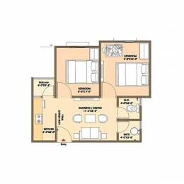 475 sqft, 2 bhk Apartment in Ashadeep Rudraksha II Sitapura, Jaipur at Rs. 11.0000 Lacs