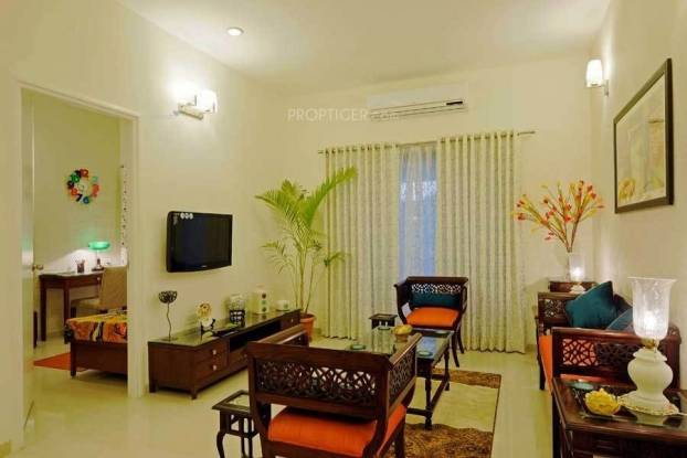 1080 sqft, 2 bhk Apartment in Adani The Meadows Near Vaishno Devi Circle On SG Highway, Ahmedabad at Rs. 42.0000 Lacs