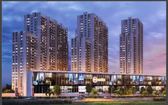 1366 sqft, 2 bhk Apartment in Incor One City Kukatpally, Hyderabad at Rs. 87.0000 Lacs