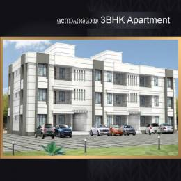 1360 sqft, 3 bhk Apartment in Builder BuildHome Project Puthiyatheru Kakkad Road, Kannur at Rs. 47.6000 Lacs