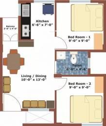 500 sqft, 2 bhk Apartment in Aswani Aswani Sitara Marsur, Bangalore at Rs. 21.0000 Lacs