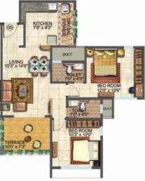 910 sqft, 2 bhk Apartment in Amit Eka Pathardi Phata, Nashik at Rs. 12000