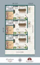 441 sqft, 1 bhk Apartment in Builder Brundavanam Advaitha Gannavaram, Vijayawada at Rs. 11.0000 Lacs