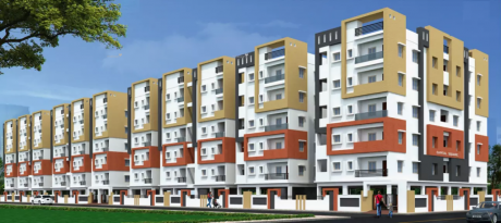 1650 sqft, 3 bhk Apartment in Builder NR Sai Bharathi Homes Capital Square Koppuravuru Guntur Koppuravuru, Guntur at Rs. 46.2000 Lacs