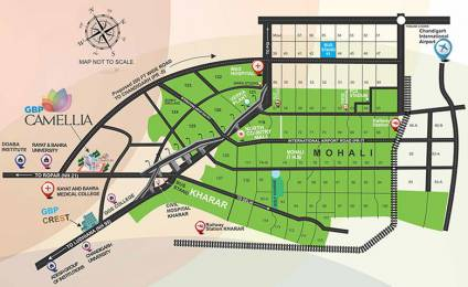 600 sqft, 1 bhk Apartment in Builder gbp camellia Kharar Mohali, Chandigarh at Rs. 20.0000 Lacs