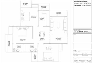 1350 sqft, 3 bhk Apartment in Builder Project Sector 19 Dwarka, Delhi at Rs. 51.9200 Lacs