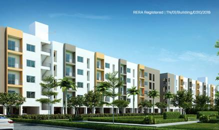 863 sqft, 3 bhk Apartment in Urbanrise Jubliee Residences Guduvancheri, Chennai at Rs. 30.4730 Lacs