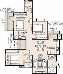 1795 sqft, 3 bhk Apartment in Sobha Iris Bellandur, Bangalore at Rs. 55000