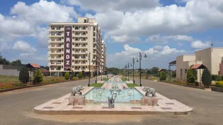 1125 sqft, 2 bhk Apartment in Builder TRENDZ WHISPERING WOODS PHASE II Bogadi Road, Mysore at Rs. 38.0000 Lacs
