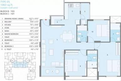 2148 sqft, 3 bhk Apartment in Soham Dev Solitaire Prahlad Nagar, Ahmedabad at Rs. 1.2000 Cr