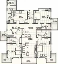 2795 sqft, 3 bhk Apartment in Bearys Lakeside Habitat Kodigehalli, Bangalore at Rs. 2.5000 Cr