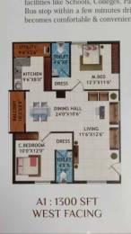 1500 sqft, 3 bhk Apartment in Builder Lohitha Residency Pragathi Nagar Kukatpally, Hyderabad at Rs. 55.5000 Lacs