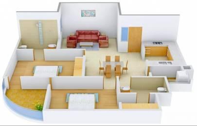1292 sqft, 2 bhk Apartment in Pearls Nirmal Chhaya Towers VIP Rd, Zirakpur at Rs. 43.0000 Lacs