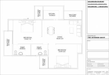 890 sqft, 2 bhk Apartment in Builder Project Dwarka New Delhi 110075, Delhi at Rs. 39.1600 Lacs