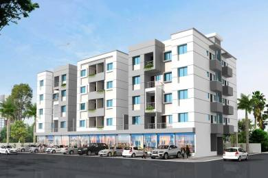 550 sqft, 1 bhk Apartment in Builder Project Beed Bypass Road, Aurangabad at Rs. 10.6200 Lacs