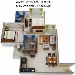774 sqft, 2 bhk Apartment in Signature The Millennia Sector 37D, Gurgaon at Rs. 24.2400 Lacs