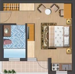 535 sqft, 1 bhk Apartment in Omaxe Fullmoon Vrindavan, Mathura at Rs. 13.0000 Lacs