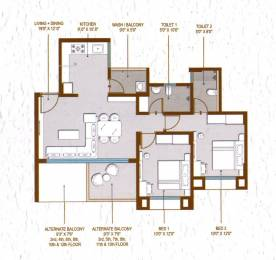 1081 sqft, 2 bhk Apartment in Builder Project Adgaon, Nashik at Rs. 39.1500 Lacs