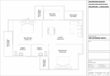 985 sqft, 2 bhk Apartment in Builder Aerocity Dwarka Multi State CGHS Ltd Chhawla, Delhi at Rs. 39.1600 Lacs