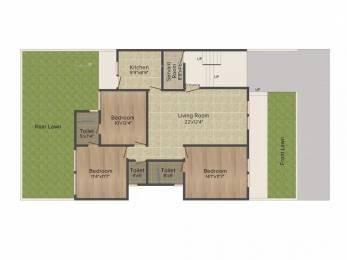 1380 sqft, 3 bhk Apartment in Emaar Emerald Floors Sector 65, Gurgaon at Rs. 1.6500 Cr
