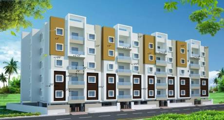 1540 sqft, 3 bhk Apartment in Builder Project Miyapur, Hyderabad at Rs. 58.5000 Lacs