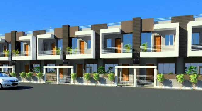 800 sqft, 3 bhk IndependentHouse in Pumarth Meadows Manglia, Indore at Rs. 32.0000 Lacs