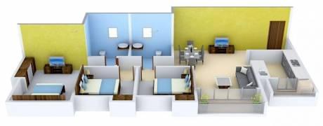 1493 sqft, 3 bhk Apartment in TATA Amantra Bhiwandi, Mumbai at Rs. 22000
