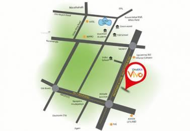 1403 sqft, 3 bhk Apartment in Damden Vivo Attibele, Bangalore at Rs. 49.9976 Lacs