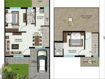 711 sqft, 2 bhk IndependentHouse in Fina Care Maruti Infra City Amleshwar, Raipur at Rs. 17.9000 Lacs