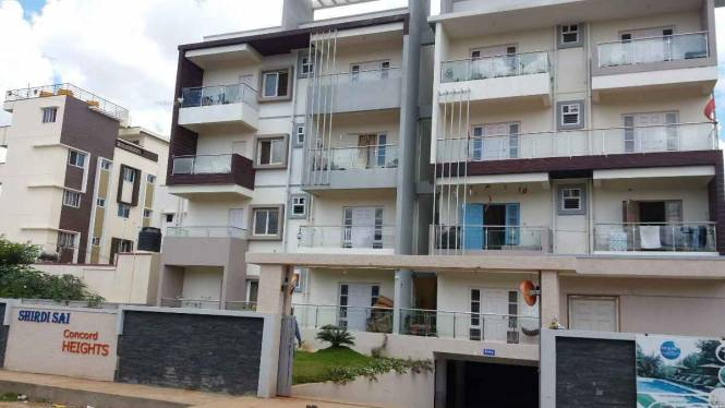 1179 sqft, 2 bhk Apartment in Builder shridi sai concord heights Thanisandra Main Road, Bangalore at Rs. 54.0000 Lacs