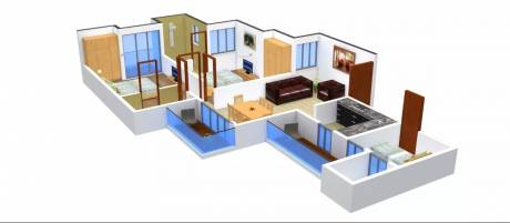 1200 sqft, 2 bhk Apartment in Urbtech Xaviers Sector 168, Noida at Rs. 49.0000 Lacs