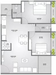 1354 sqft, 2 bhk Apartment in PSY Pramukh Lotus Sargaasan, Gandhinagar at Rs. 42.0000 Lacs