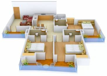 1780 sqft, 3 bhk Apartment in Delhi Delhi Gate Chhawla, Delhi at Rs. 67.3750 Lacs