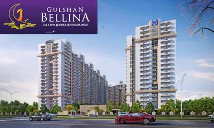 1105 sqft, 2 bhk Apartment in Gulshan Bellina Sector 16 Noida Extension, Greater Noida at Rs. 39.0000 Lacs