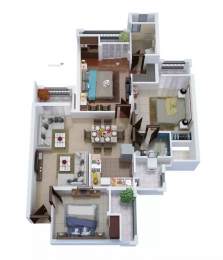 1495 sqft, 3 bhk Apartment in Civitech Stadia Sector 79, Noida at Rs. 86.0000 Lacs