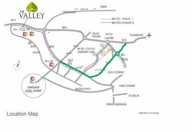 689 sqft, 2 bhk Apartment in Supertech The Valley Sector 78, Gurgaon at Rs. 23.4500 Lacs