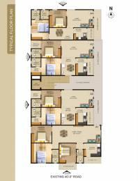 1065 sqft, 2 bhk Apartment in Builder kamala kutter Sujatha Nagar, Visakhapatnam at Rs. 37.0000 Lacs