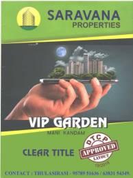 1690 sqft, Plot in Builder Saravana Properties VIP Garden Trichy Madurai Highway, Trichy at Rs. 10.9850 Lacs
