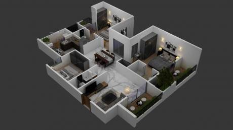 1280 sqft, 3 bhk Apartment in Builder NYK Homesss Kudlu Gate, Bangalore at Rs. 83.4838 Lacs