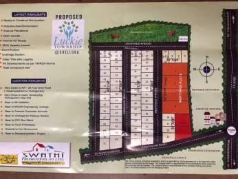 1800 sqft, Plot in Builder Swathi Lucky Mega Township Vizianagaram, Visakhapatnam at Rs. 22.0000 Lacs