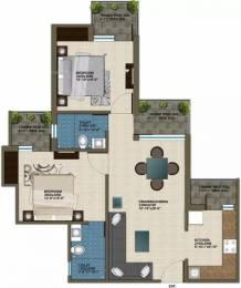 1025 sqft, 2 bhk Apartment in Krish Aura Sector 18 Bhiwadi, Bhiwadi at Rs. 23.0000 Lacs