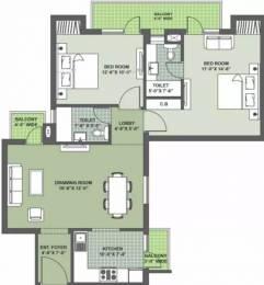 1234 sqft, 2 bhk Apartment in Nimai Greens Sector 22 Bhiwadi, Bhiwadi at Rs. 31.0000 Lacs
