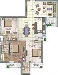 1690 sqft, 3 bhk Apartment in NK Savitry Greens VIP Rd, Zirakpur at Rs. 47.9000 Lacs