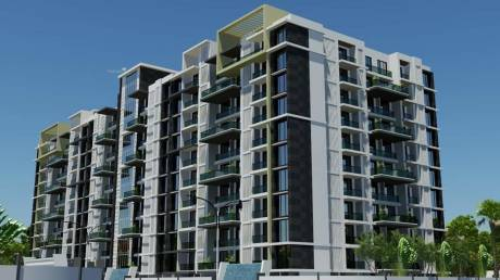 1525 sqft, 3 bhk Apartment in Builder wallfort elegante Pachpedi Naka, Raipur at Rs. 51.0875 Lacs