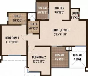 1061 sqft, 2 bhk Apartment in Abhinav Pebbles II Bavdhan, Pune at Rs. 65.0000 Lacs
