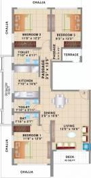 1622 sqft, 3 bhk Apartment in Kesar Polaris Dadar East, Mumbai at Rs. 4.5000 Cr