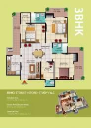 1695 sqft, 3 bhk Apartment in High End Windsor Paradise II Raj Nagar Extension, Ghaziabad at Rs. 50.8500 Lacs
