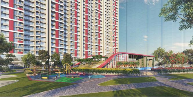 705 sqft, 2 bhk Apartment in Shapoorji Pallonji Northern Lights Thane West, Mumbai at Rs. 1.3000 Cr